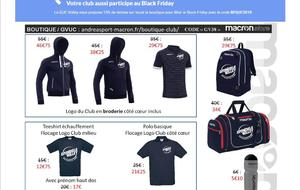 BLACK FRIDAY du 22/11 au 25/11